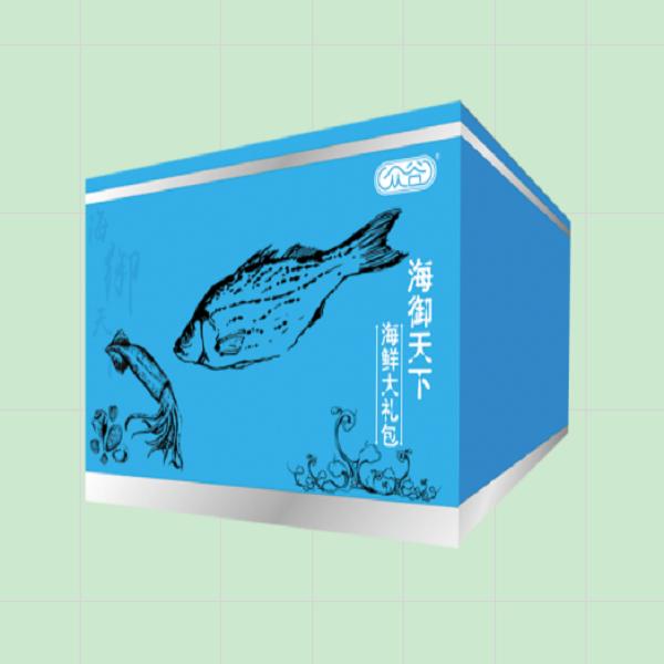 众谷海鲜礼盒 海丰天下3250g冷冻海鲜礼品卡 冻海鲜大礼包 年货礼品  节日礼品  促销活动礼品 福利礼品